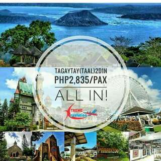Tagaytay (TAAL) Tour Package