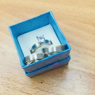 Satinles Couple Ring