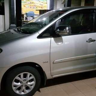 Toyota kijang innova G manual 2010 pemakaian pribadi