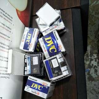 Panasonic mini Digital video cassette  @ $ 5 Each