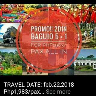 BAGUIO Tour Package