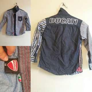 ®️Ducati Boy Shirt 5-6 Years