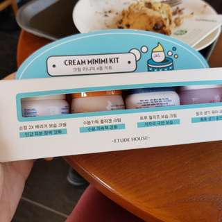 etude house cream mini kit