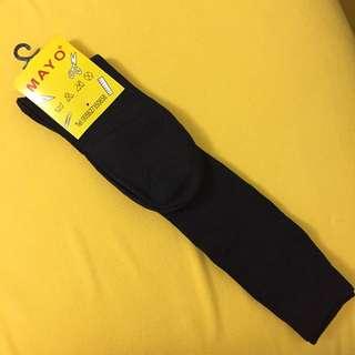 黑襪 直紋襪 高筒襪 返學襪 Black socks