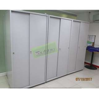 8pcs - 5 LAYER METAL SLIDING DOOR CABINET--KHOMI