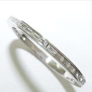 18k Diamond Ring - Baguette