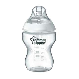 Tommee Tippee 9oz Bottle (white) #15Off
