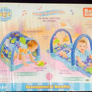Brand new play and lay baby gym mat