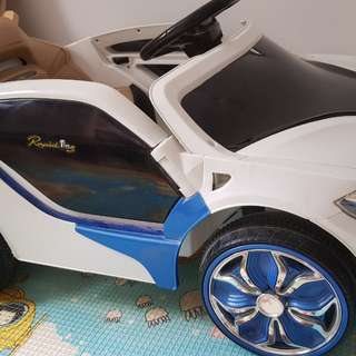 Remote control battery operated kids car