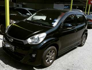MYVI 1.5se&MYVI 1.3A(2012)FOR RENT