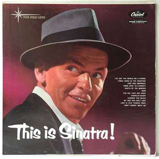 Frank Sinatra ‎– This Is Sinatra! (1962 US Pressing - Vinyl is Excellent)