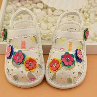 Sepatu sendal flower (14-18)