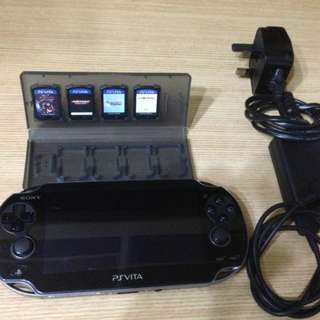 Sony PS Vita with games