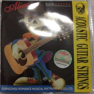 Alice A206 acoustic guitar string sets