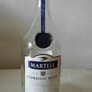 Martell Cordon Bleu Extra Old Cognac EMPTY bottle
