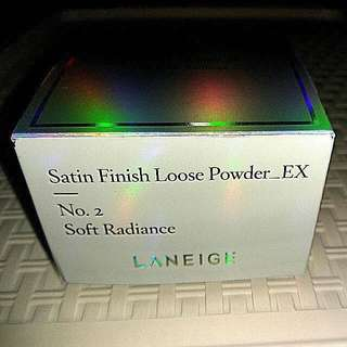 Laneige Satin Finish Loose Powder Ex ( No. 2 Soft Radiance ) 20g