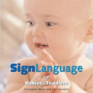 Baby and Toddler sign language book