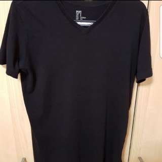 Brand New H&M Black V Neck