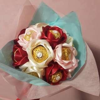 Valentine's day Ferrero Bouquet