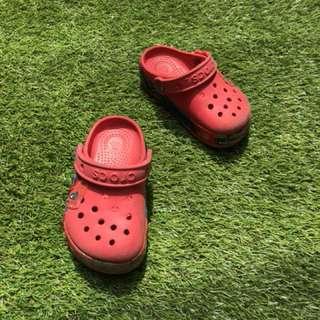 Crocs kids sepatu sendal anak