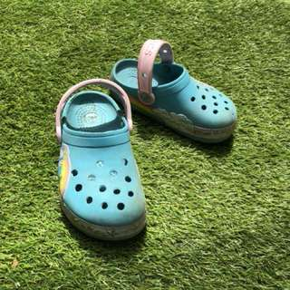 Crocs kids girls sepatu sendal anak