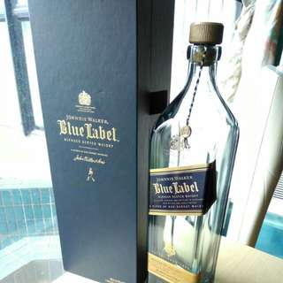 Blue Label 空酒樽