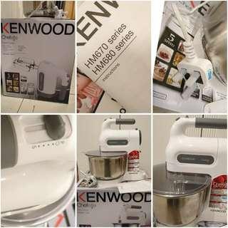 Kenwood桌上打蛋器 (HM680)