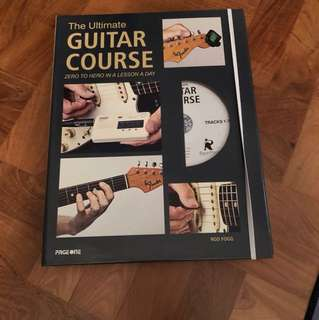 The ultimate guitar course zero to hero in a lesson a day (w/CD)