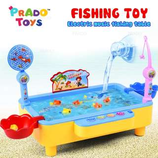 DOMI Magnetic Fishing Toys Family Fun Educational Game Baby Boy TOY-1567A