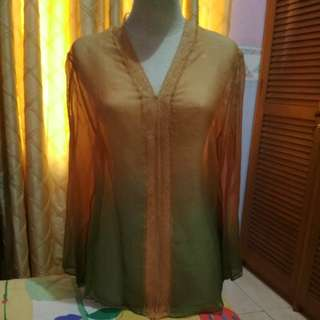Kebaya two tone by: PRAJUDI