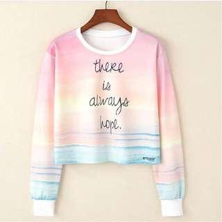 Sweater Crop Sunset