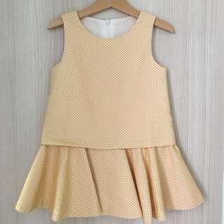 Saturday Club Girls Yellow Dress