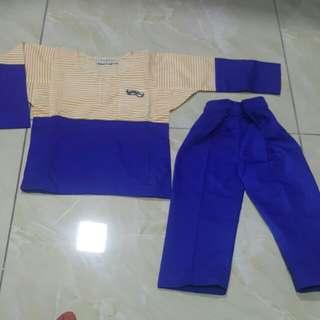 Baju Melayu Budak