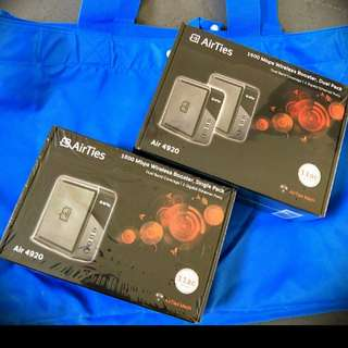 (SOLD OUT ) BNIB Airties Wifi Mesh 1600Mbps SINGLE/DUAL PACK (WILL SEND TO U)