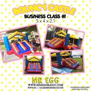 BUSINESS CLASS BOUNCY CASTLE BC#1