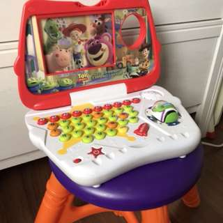 Toy story 3 laptop with cards insert