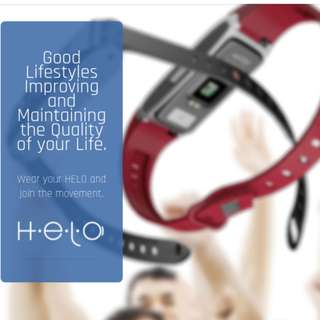 HELO WELLNESS BAND - Good Lifestyles Improving and Maintaining the Quality of your Life.