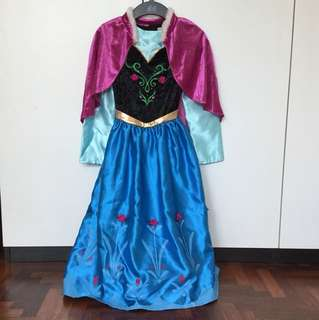 Disney Frozen Anna coronation dress
