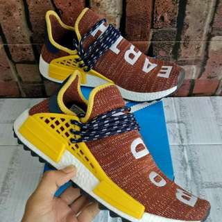 ADIDAS NMD HU BODY EARTH MIROR QUALITY SIZE 40-45 STOCK TERBATAS