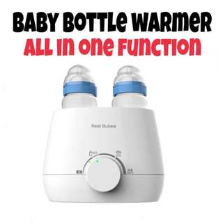 DOMI ORIGINAL Real Bubee Dual Bottle Baby Food Milk Warmer Anti Bacteria 1001
