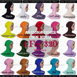 4 For $20 Arizona Muslimah  Inner Ninja Anti Tembam