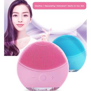 Waterproof Vibrating Silicone Face Cleansing Brush