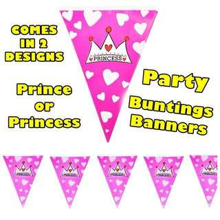Party / Birthday Banners Buntings Flags