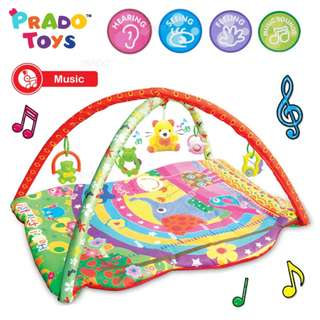 Musical Large Baby Play Soft Gym Mat Activity Jungle Toys Kids TOY-AB44090