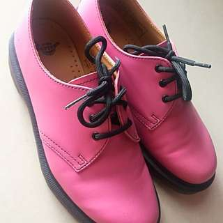 Dr.Martens Pink Oxford (Low Ankle)