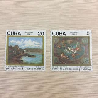 Perangko / Prangko Langka (Cuba)