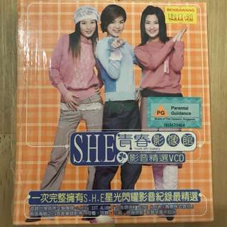 S.H.E 青春影像馆 VCD - Chinese Songs