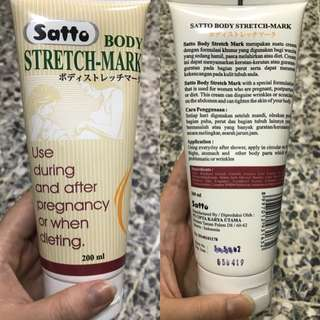 Satto body stretch- mark 200ml