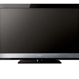 Sony 40inch 吋全高清full hd LED TV 電視(少用,操作一切正常)