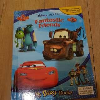 My Busy Books Disney Pixar Fantastic Friends